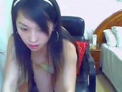 Chinesische Webcam sehr sexy Mädchen - mehr awesome Webcams bei sheshot