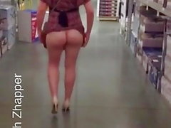 Clignotant Ass in Public 1