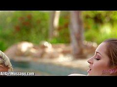 Alle Mädchen Massage Anikka Albrite lecken Dani Daniels