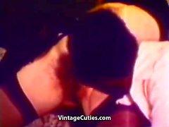 Interracial Geschlecht bei Lustige schwarze Man ( 1960er Jahre Vintages )