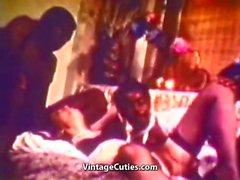 Interracial Sex with Funny Black Man (1960s Vintage)