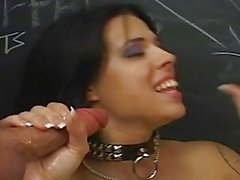 Sassy Babe Gets A Tasty Mouthful...