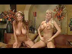 Kelly Madison und die Mary Carey toplesse Talk