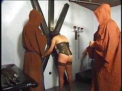 Monks Molest Masked Maiden