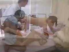 Sensuous nurse works her twat on a stiff pole like only she