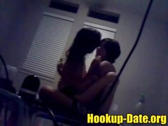Webcam amateur lesbian sweetly have sex with her roommate