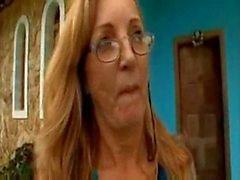 brasiliano la nonna di Simone cazzo duro
