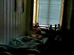 Norweigan arkadaşı tarafından İsveç adamın yakaladı wanking - spy cam