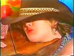 Kovboy Kız Duygudurum Satılık Rodeo potinler Koklama