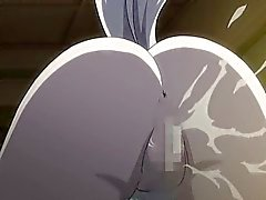 Hentai Porn catgirl blir knullade samt cums om