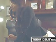 Gina Valentina Creampied By the School Dean