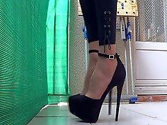 Legging & каблуках