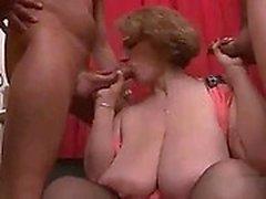 BBW Mulheres maduras Sophia Gang Bang