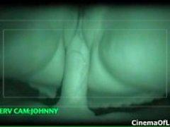 Seksi siyah kız nightvision eylem