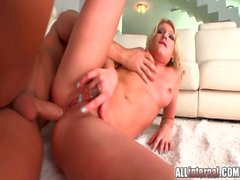 All Internal Army chick loves to take his hot load of cum inside