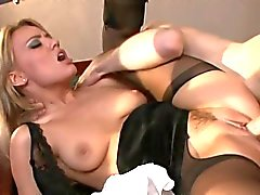 Anale creampie in panty ( Holly Wellin )