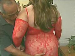 Red Lingerie Big Big Kaltak