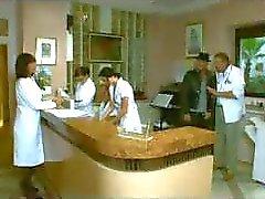 Os enfermeiros são meninas muito tesão no trabalho e chupar e foder o tempo todo