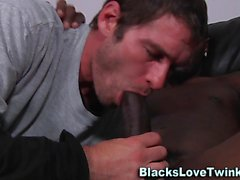 White amateur gets bbc