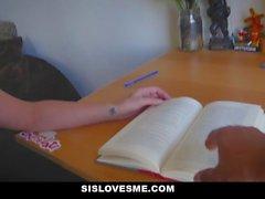 SisLovesMe Big Ass Sis Needs Homework Help