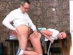 3some könet med lärare