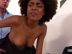 Exposed Casting - Beautiful black Brazilian babe Luna Corazon gets banged in hot POV casting