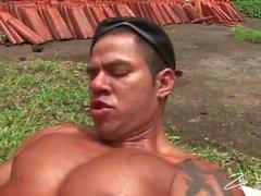 Paksuja latina Cock Patrol koskevan Tiiviit Ass