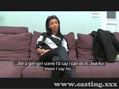 Casting She makes spunk fly
