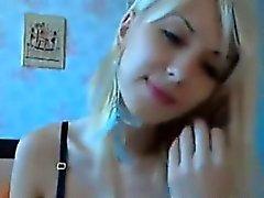 Blonden Cam Girl Die Streifen