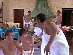 Twink que filme de O pessoal CAPA estão preparando no seu partido toga