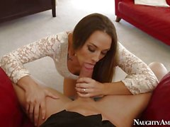 Chanel Preston sucks cock