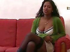 Black Chick Alvina Ile Maurice