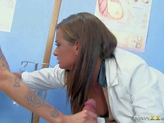 Femdom fucking with doctor Tory Lane