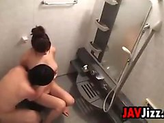 Japanese Prostitute Fucking In A Bathroom