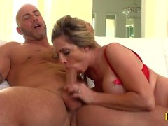 Angela Attison Goes Door to Dick