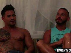 Latin Gay Flip Flop und Cumshot