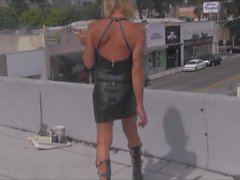 du cuir sexy salope à Los Angeles