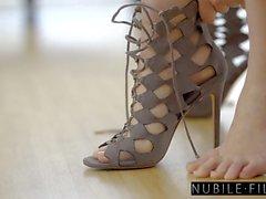 NubileFilms - Cazzo caldo con Beautiful Blonde