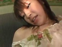 Dazzling Oriental chick with a fabulous ass is addicted to