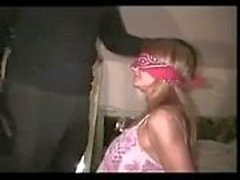 Blindfolded Wife Hard Fuck with BBC in Miami Hotel for cuckold666