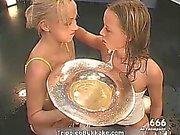 Sexy blonde sluts go crazy getting their part4