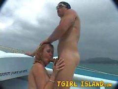 Tgirl isola Alexia
