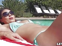 Mofos - Pool side anal party