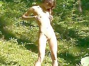Fingering vagin la forêt