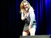 Carolin Kebekus German Alpha Pussy Upskirt Stage No Panties