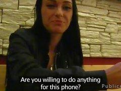 Любитель трахается за телефоне открытый вечером