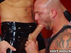 HotHouse Sebastián Kross I underbar läder Boxer