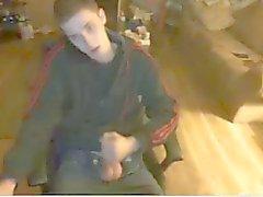 Секси молодой Str8 парнем Masturbation на вебкамеру , Горячая Богоматерь жопа