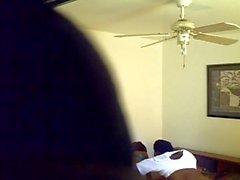 Camma nascosta Hooker scopata da Scarsa un uomo il video 3