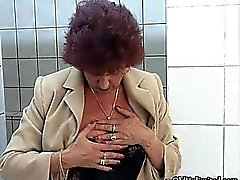 Corneo età matura casalinga di Fingering part2